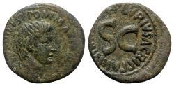 Ancient Coins - Augustus (27 BC-AD 14). Æ As - Rome, P. Lurius Agrippa, moneyer