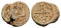 Ancient Coins - Byzantine Pb Seal, c. 7th-12th century with eagle
