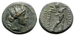 Ancient Coins - Phrygia, Apameia, c. 88-40 BC. Æ - Attalos, son of Bianor, eglogistes