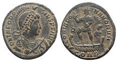 Ancient Coins - Theodosius I (379-395). Æ (23mm, 5.57g, 6h). Constantinople, 379-383.