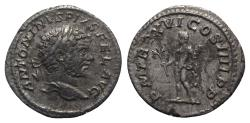 Ancient Coins - Caracalla (198-217). AR Denarius - Rome - R/ Hercules