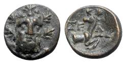 Ancient Coins - Pisidia, Selge, 2nd-1st century. Æ - Herakles / Stag