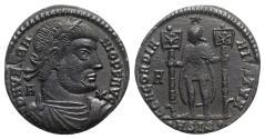 Ancient Coins - Vetranio (AD 350). Æ 24mm. Siscia. R/ Vetranio