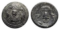 Ancient Coins - Kings of Macedon. Alexander III 'the Great' (336-323 BC). Æ Half Unit