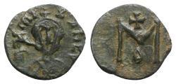 Ancient Coins - Michael III (842-867). Æ 40 Nummi - Syracuse