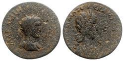 Ancient Coins - Philip I with Otacilia Severa (244-249). Cilicia, Mallus. Æ