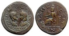 Ancient Coins - Gordian III and Tranquillina (238-244). Moesia Inferior, Odessus. Æ Assaria - R/ Hades-Serapis