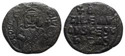 Ancient Coins - Theophilus (829-842). Æ 40 Nummi - Constantinople