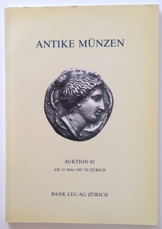 Ancient Coins - Bank Leu - Auction 42 Celtic and Greek Coins. 12 May 1987.