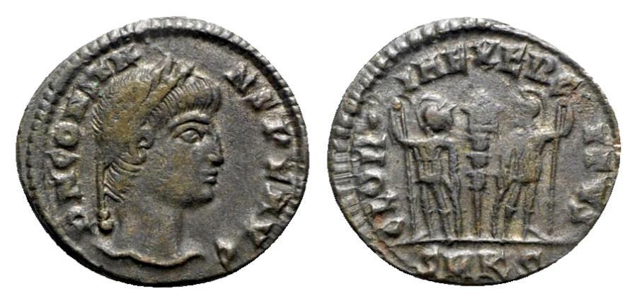 Ancient Coins - Constans (Caesar, 333-337). Æ - Cyzicus
