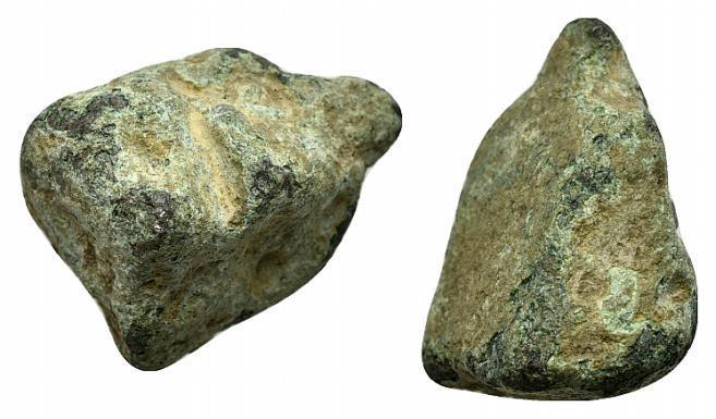 Ancient Coins - ROME REPUBLIC Æ Aes Rude, c. 8th-3rd century BC (22mm, 15.64g).