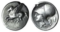 Ancient Coins - Akarnania, Argos Amphilochikon, c. 330-280 BC. AR Stater