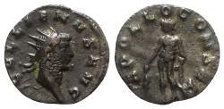 Ancient Coins - Gallienus (253-268). Antoninianus - Mediolanum - R/ Apollo