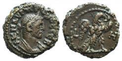 Ancient Coins - Probus (276-282). Egypt, Alexandria. BI Tetradrachm, year 1 (AD 276). R/ Eagle