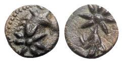 Ancient Coins - Pontos, Uncertain, c. 130-100 BC. Æ - Horse head / Comet
