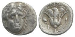 Ancient Coins - Islands of Caria, Rhodos. Rhodes, c. 305-275 BC. AR Hemidrachm