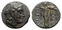 Ancient Coins - Seleukid Kings, Seleukos I (312-281). Æ - Apollo / Athena