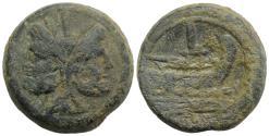 Ancient Coins - ROME REPUBLIC  Anonymous. After 211 BC. Æ As  JANUS