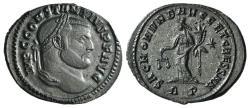 Ancient Coins - Constantius I (Caesar, 293-305). Æ Follis. Rome, 302-303. R/ MONETA