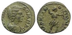 Ancient Coins - Julia Domna (Augusta, 193-217). Moesia Inferior, Marcianopolis. Æ 21mm. R/ Artemis
