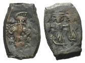 Ancient Coins - Constans II (641-668). Æ 40 Nummi. Constantinople.