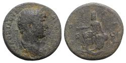 Ancient Coins - Hadrian (117-138). Æ As - Rome - R/ Tyche