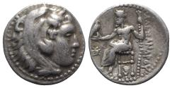 Ancient Coins - Kings of Macedon, Alexander III 'the Great' (336-323 BC). AR Drachm. Sardes, c. 334/25-323.