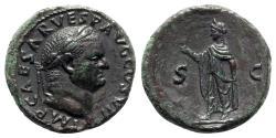 Ancient Coins - Vespasian (69-79). Æ As - Rome - R/ Spes