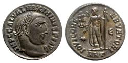 Ancient Coins - Maximinus II (310-313). Æ Follis - Antioch - R/ Jupiter
