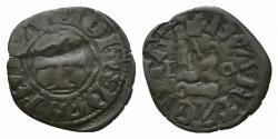 Ancient Coins - CRUSADERS, Despots of Eprius. Giovanni II Orsini. 1323-1335. BI Denier RARE