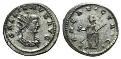 Ancient Coins - Gallienus (253-268). AR Antoninianus Antioch, c. 266-8. R/ VENUS