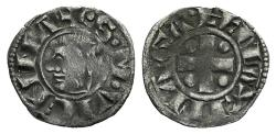 World Coins - France, Vienne. Anonymous issues, 11th-12th centuries. AR Obol
