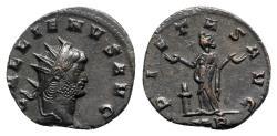 Ancient Coins - Gallienus (253-268). Antoninianus - Mediolanum - R/ Pietas