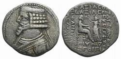 Ancient Coins - Kings of Parthia, Phraates IV (c. 38/7-2 BC). Tetradrachm. Seleukeia on the Tigris, year 288 ? (August 25 BC). Ex Simonetta Collection