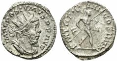 Ancient Coins - Postumus (260-269). AR Antoninianus. Treveri, 263-5. R/ MARS