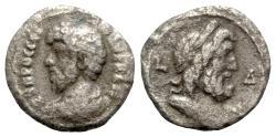 Ancient Coins - Lucius Verus (161-169). Egypt, Alexandria. BI Tetradrachm - year 4 - R/ Bust of Zeus