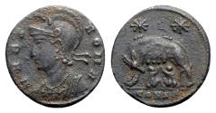 Ancient Coins - Commemorative Series, 330-354. Æ Follis - Constantinople
