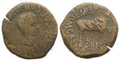 Ancient Coins - Augustus (27 BC-AD 14). Spain, Calagurris. Æ As