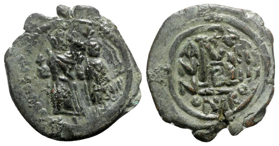 Ancient Coins - Heraclius (610-641). Æ 40 Nummi - Nicomedia, year 4