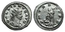 Ancient Coins - Gallienus. A.D. 253-268.  Antoninianus. Antioch mint, Struck A.D. 263-264. R/ NEPTUNE