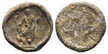 Ancient Coins - Greek PB Seal, c. 4th-3rd century BC. Zeus