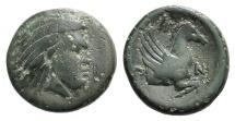 Ancient Coins - Cimmerian Bosporos, Pantikapaion, c. 310-304/3 BC. Æ 15mm