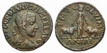 Ancient Coins - Gordian III (238-244). Moesia Superior, Viminacium. Æ 30mm, year 3 (241/2).