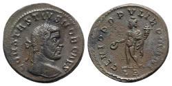Ancient Coins - Constantius I (Caesar, 293-305). Æ Follis - Lugdunum