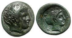 Ancient Coins - Thessaly, Phalanna, c. 4th century BC. Æ Trichalkon