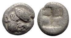 Ancient Coins - Lesbos, Unattributed early mint, c. 500-450 BC. BI Obol