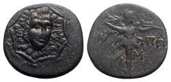 Ancient Coins - Paphlagonia, Sinope, c. 85-65 BC. Æ - R/ Nike