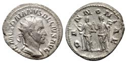 Ancient Coins - Trajan Decius (249-251). AR Antoninianus - Rome - R/ Pannoniae