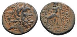 Ancient Coins - Seleucis and Pieria. Antioch. Pseudo-autonomous issue. Æ Tetrachalkon - RARE