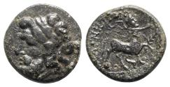 Ancient Coins - Thessaly, Magnetes, mid 2nd-mid 1st centuries BC. Æ Tetrachalkon